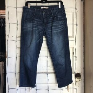 J Brand Jeans The Greaser Size 27 Dark Wash